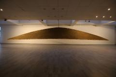 """""""Pokora"""", glina, dł.1200cm, 2016r."""
