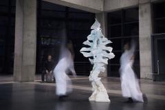 """""""Anatomia wszystkiego"""", rzeźba, performance, 2019r."""