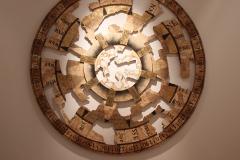 """""""Arte Navigatio"""", papier, mdf, tusz, 180 cm, 2014r."""