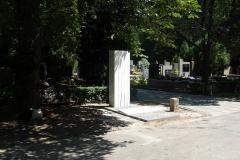 Nagrobek Zbigniewa Zapasiewicza na Cmentarzu Wojskowym na Powązkach w Warszawie, Zbigniew Zapasiewicz's grave in Warsaw